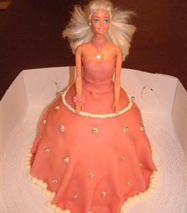 barbiepop taart