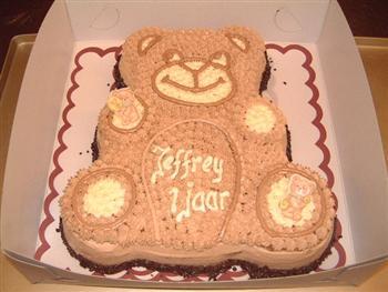 beren vorm taart