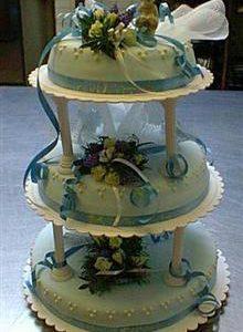 bijzondere bruidstaart  _