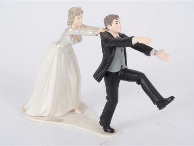 bruidspaar    slepend