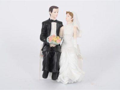 bruidspaar 3 zittend