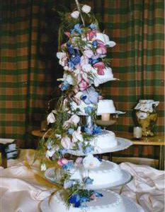 bruidstaart echte bloem 9