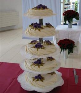 gedrapeerde bruidstaart 3