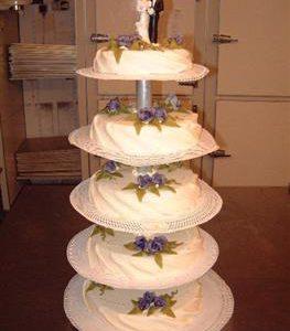 gedrapeerde bruidstaart 7