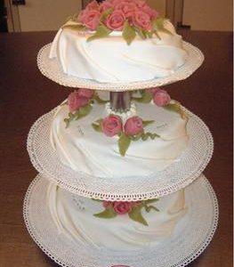 gedrapeerde bruidstaart 9