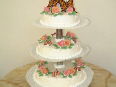 traditionele bruidstaart  8