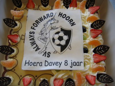 voetbal logo always forward